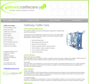 Galloway Cattle Care - proudly serving scotland's farmers