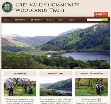 Cree Valley Community Woodlands Trust - Dumfries and Galloway Tourism