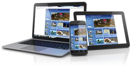 Database Driven Website, optional addition of being optimised for Tablets and Smartphones