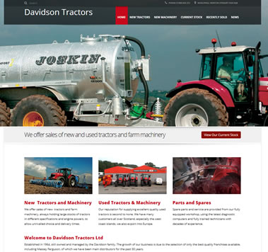 Davidsons Tractors - New & Used Farm Machinery, Whauphill, Galloway Scotland