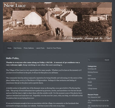 New Luce History Blog