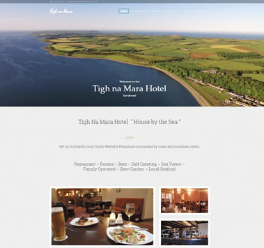 Tigh Na Mara Hotel & Restaurant in Sandhead, Dumfries and Galloway