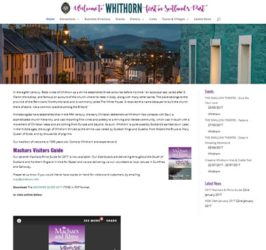 Whithorn, The Machars, Wigtownshire, Dumfries and Galloway, Scotland UK