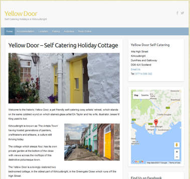 Yellow Door - Self Catering Holidays.